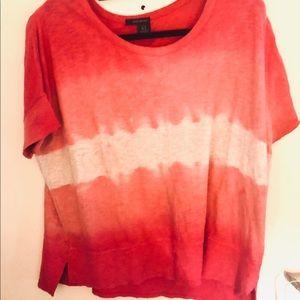 DKNY sweatshirt tie dye